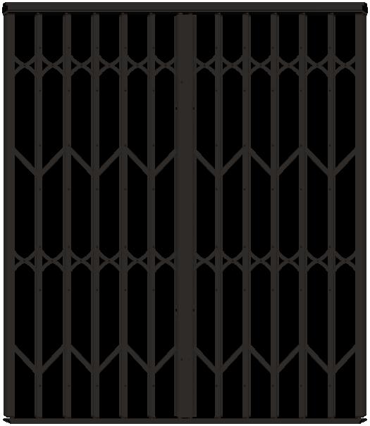 Nouvel Grille de sécurité extensible MAXIDOR Réunion XV-36